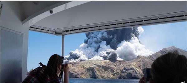 australians presumed dead new zealand volcano island