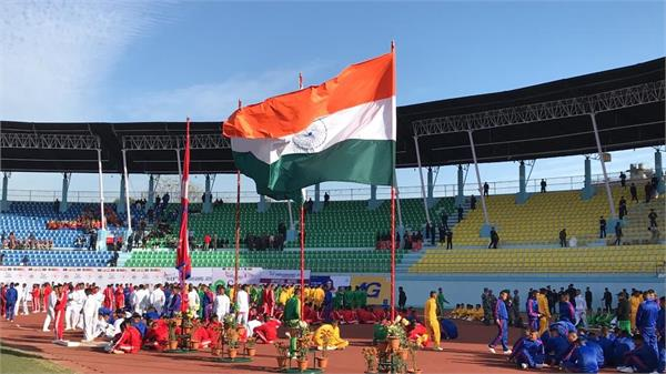 south asian games india opens medal account with four medals