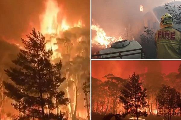australia  20 buildings destroyed