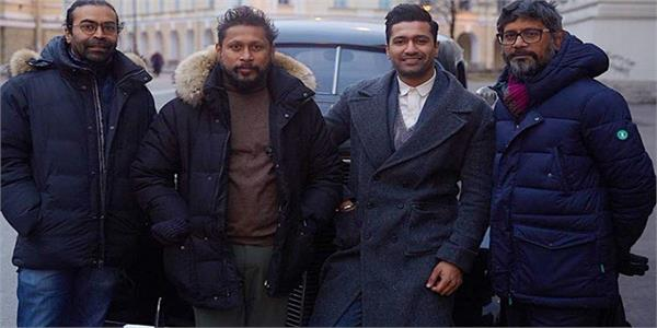 vicky kaushal complete his upcoming film sardar udham singh shooting