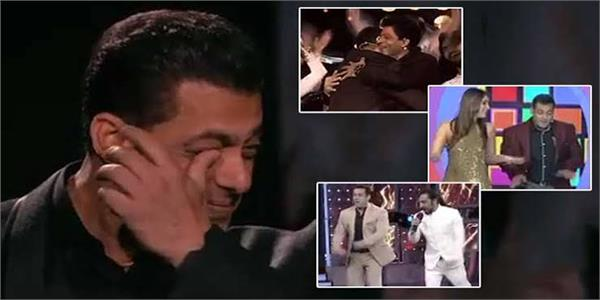 salman khan tears up after completing 10 years as bigg boss host
