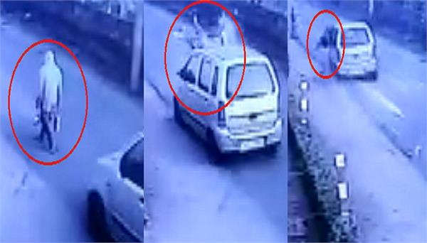 moga road accident woman death