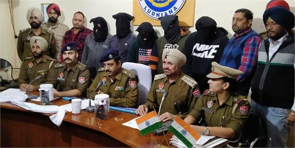 gangster jassa arrested with 4 friends