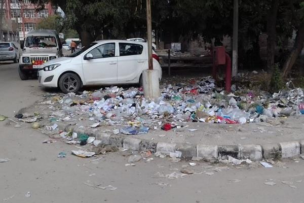 barnala  district administrative complex  garbage swachh bharat mission