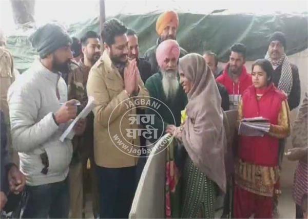 dhuri  mla dalvir singh goldy  poor families  help
