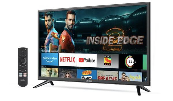 onida fire tv edition smart tvs launched in india