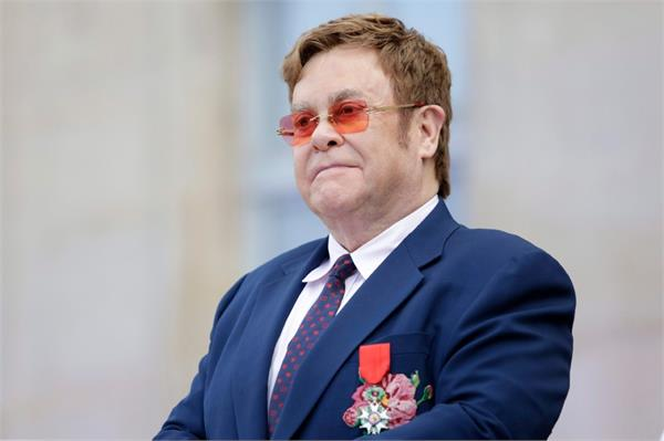 elton receives apology from uk government after data leak