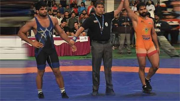 punjab wrestlers bagged 4 medals in tata motors senior national championship