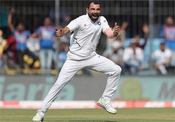 mohammed shami into top 10 in icc test bowlers rankings