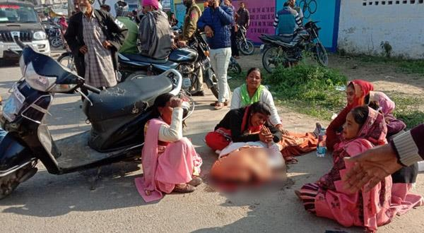 one killed in road accident