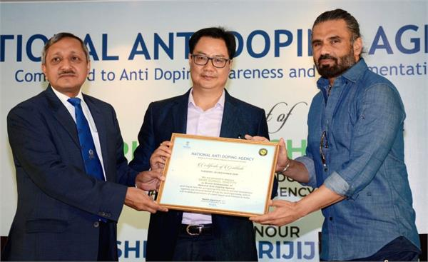 actor sunil shetty becomes nada  s brand ambassador