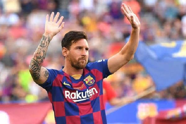 messi won the explosive goal  barcelona in the 86th minute