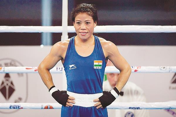 mary kom reached number one in the aiba rankings