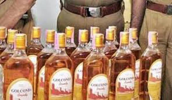 unauthorized liquor and lewd export in large quantities