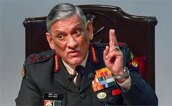 terrorists will continue kill them  bipin rawat