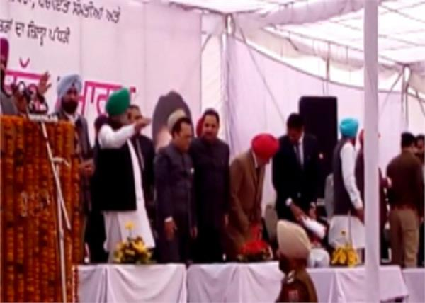 sarpanch  swearing in ceremony  jalandhar