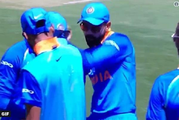 kohli moves to dance show  video  in sydney one day