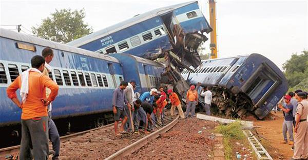 419 deaths in train accident in 5 years
