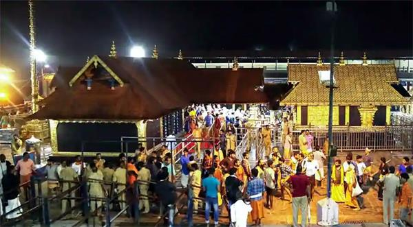 today will open the sabarimala temple