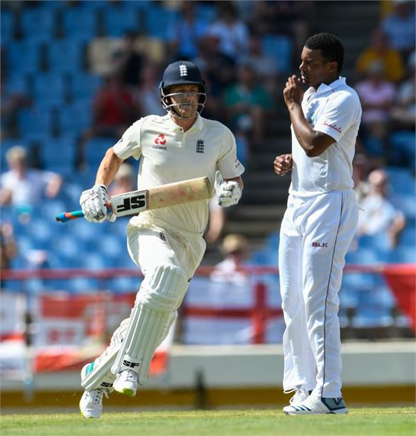in the third test match  england can fix the windies