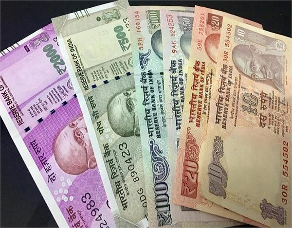 rupee rose 9 paise to 71 23 against the dollar