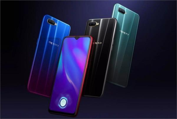 oppo k1 smartphone first sale today