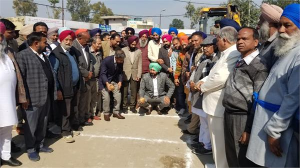 sultanpur lodhi  bus stand  construction