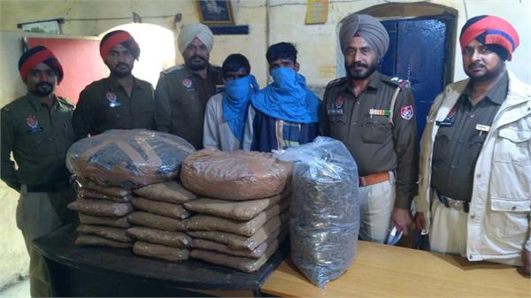 khanna police  2 arrested