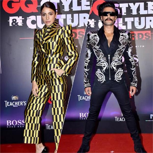 GQ Style Awards 'ਚ ਛਾਇਆ ਅਨੁਸ਼ਕਾ-ਰਣਵੀਰ ਦਾ ਜਾਦੂ, ਦੇਖੋ ਤਸਵੀਰਾਂ