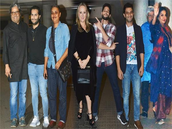 ritesh sidhwani hosted a special party
