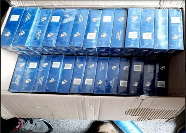 bihar 5 crore foreign cigarettes recovered