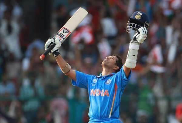 sachin tendulkar scored his 100th international hundred