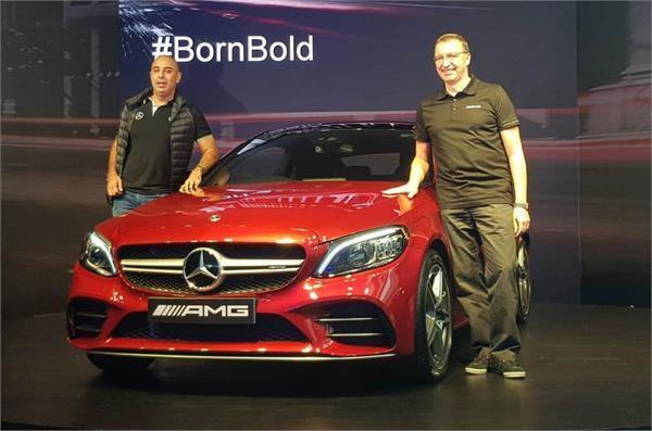2019 mercedes amg c43 coupe launched in india