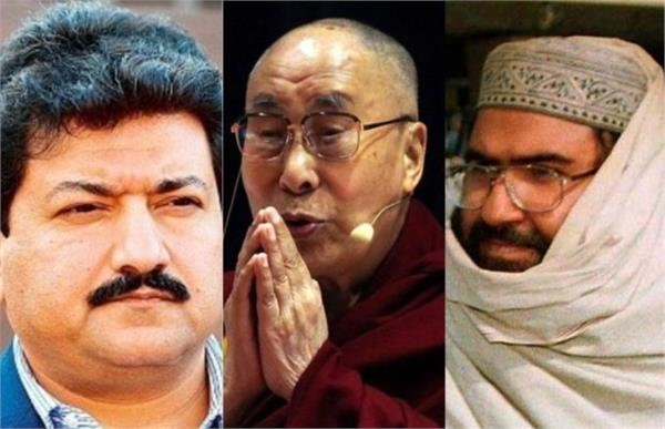pak journalist compares dalai lama to terrorist masood azhar
