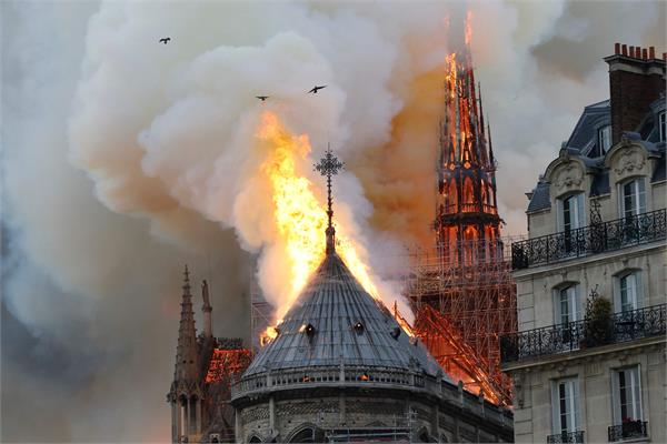 fire originated in the 800 church in paris president arrived at scene