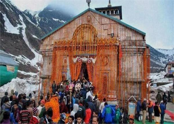 kedarnath temple door 29 april pilgrims