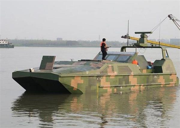 china  amphibious drone boat