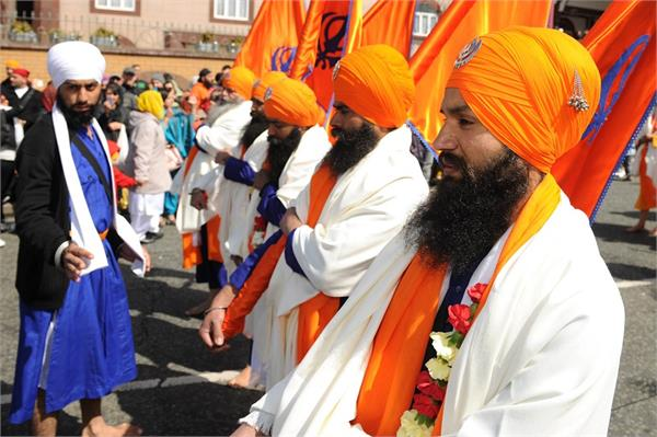 when the vaisakhi color seen on foreign soil