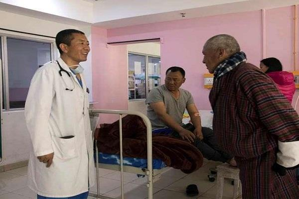 bhutan  s pm tshering  who also deals with politics  is also in medical treatment