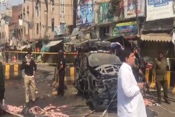 a horrific suicide attack in pakistan in the holy month of ramadan