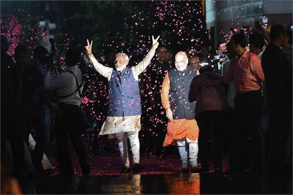 the   bjp nda   historic victory in the elections