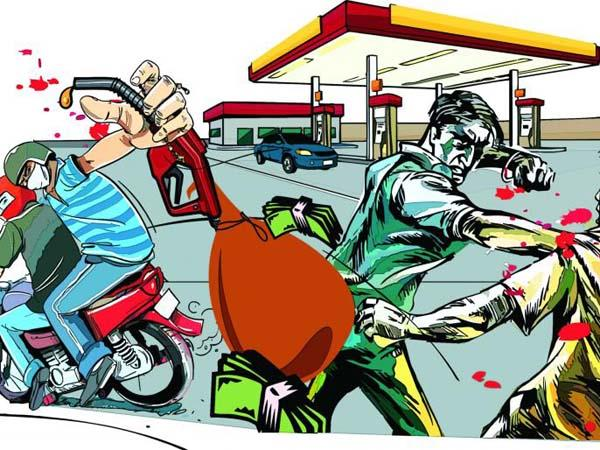 constant attacks on petrol pumps  murders and robbery