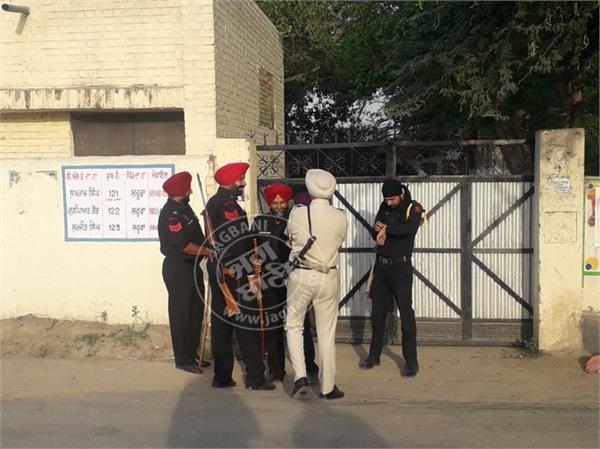 amritsar rajasansi voting started
