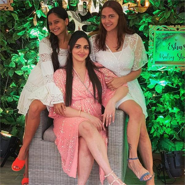 esha deol shares pics from her baby shower part 2