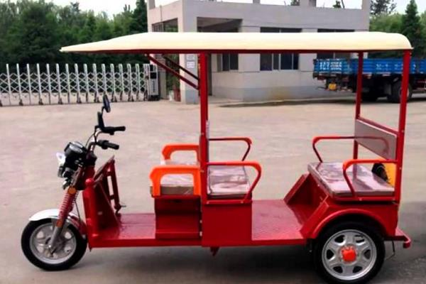 selling electric only three wheelers from 2024