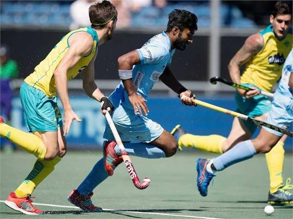 indian hockey team lose 0 4 to australia