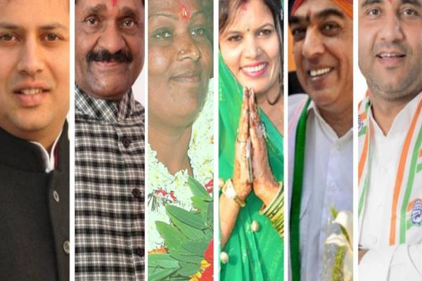 many rajasthan candidates with more than one lakh votes ahead