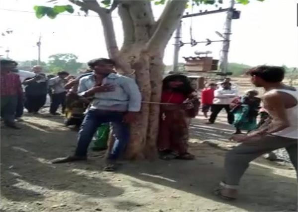 madhyapradesh  a man   his two relatives beaten