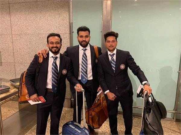 india team depart for world cup