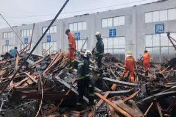 china factory collapse